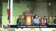 13 more terrorists killed