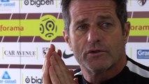 Metz - Dijon, la conférence de presse d'avant-match