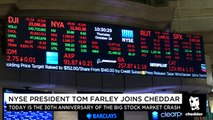 NYSE's Tom Farley: What We Can Learn From Wall Street's Worst Day Ever