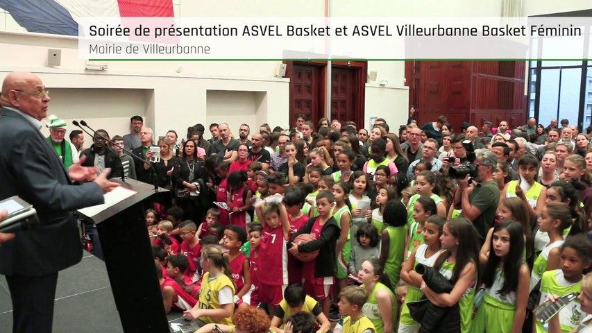 Présentation ASVEL Basket et ASVEL Villeurbanne Basket Féminin