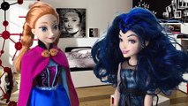 Frozen Elsa Betrayed By Descendants Mal and Maleficent Can Frozen Anna and Evie Save Her?
