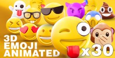[AfterEffectsTemplates.org] EMOJI 3D animated- Free After Effects Templates, Project Files