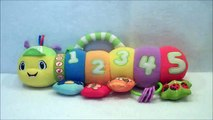 LeapFrog Baby Counting Pal Musical Caterpillar Plush Crib Toy