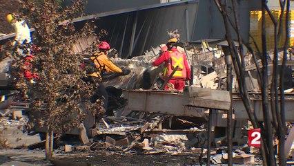 Incendies en Californie : à la recherche des disparus