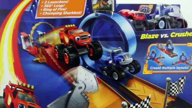 BLAZE AND THE MONSTER MACHINES Nickelodeon Monster Dome Playset Monster Trucks Blaze Toys Video