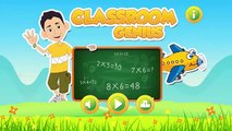 kids math tables up to 10 - Classroom Genius learn multiplication tables with fun