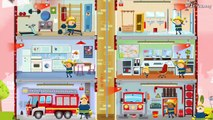 Fire Truck, Fire Engine & Firefighters - For KIDS | Little Fire Station For Children- NEW ALL UPDATE