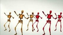 Danse des squelettes - Skeletons Dancing - cartoon 2017