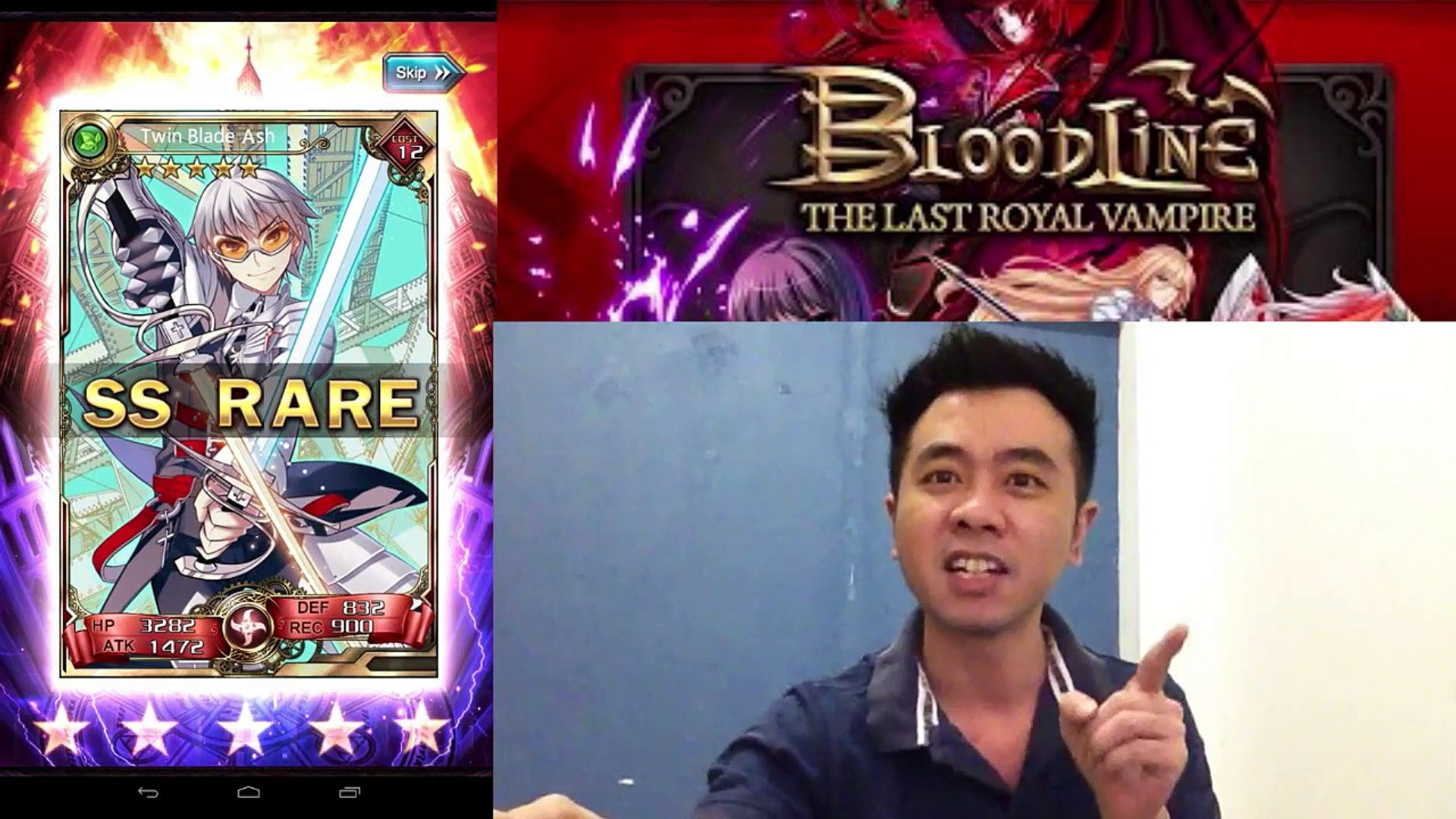 Milko Gaming : BloodLine FIRST BLOOD My Very 1st 30x Summon