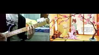 (TABS) このはな綺譚 ED 春ウララ、君ト咲キ誇ル guitar cover ギター 弾いてみた(tv size)  Konohana Kitan ED guitar cover