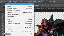 Photoshop Tutorial: Create League Of Legend Text Effect