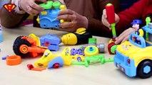 MACCHINE SMONTA E RIMONTA - giochi per bambini - trenino e moto da ricomporre con Mr Mario