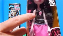 Monster High REBOOT Frankie & Draculaura Dolls How Do You Boo? Unboxing Toy Review