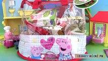 Peppa Pig Pretty Food Bag Play Doh Sac Goûter Gâteaux Cupcakes Chocolat Sweet Treats Pâte à modeler