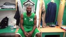 Basket : Alain Koffi présente les nouveaux vestiaires de l'Elan Béarnais