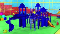 Magic 3D Indoor Playground Tunnel for Kids to LEARN COLORS Fun Cool Surprise Eggs Balls Part 2