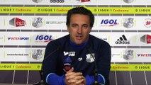 Conférence de presse D'avant Match Christophe Pelissier_ASC- Girondins de Bordeaux