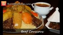 Couscous Marocain au Boeuf - Moroccan Beef Couscous - كسكس بلحم