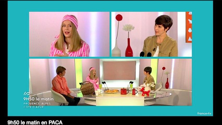 Interview Capucine Ackermann France 3 Paca du 19/10/17