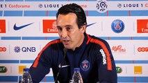 """OM-PSG Emery: """"Nous aurions voulu avoir nos supporters à Marseille"""""""