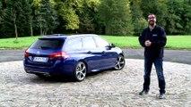 Essai – Peugeot 308 SW restylée (2017) : les breaks ont encore leur mot à dire