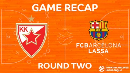 EuroLeague 2017-18 Highlights Regular Season Round 2 video: Zvezda 90-82 Barcelona