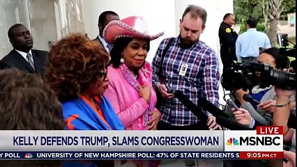 Lawrence 'Stunned' by John Kelly's attack on Rep- Wilson
