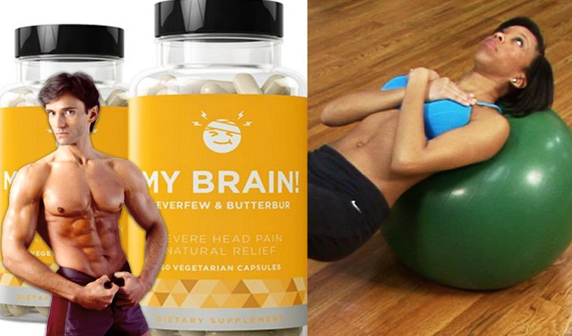 STOP MIGRAINE HEADACHE PAIN & SHAPE UP WITH EXERCISE BALLS   Fit Now with Basedow