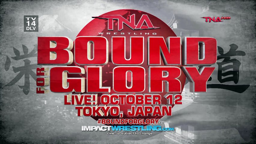 TNA - Bound For Glory  2014