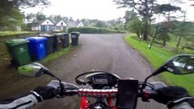 Exploring the Trossachs by Honda CRF 250L - Episode 1: Loch Katrine to Loch Lomond