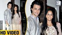Salman's Sister Arpita Khan And Aayush Sharma At Aamir Khan's Diwali Bash