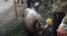 İstanbul'da Isınmak İçin Ateş Yakmak İsteyen Genç, Cayır Cayır Yanıyordu