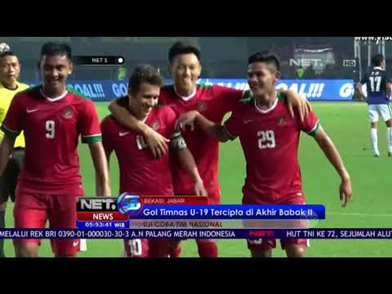 Timnas Indonesia Kalahkan Kamboja di Laga Uji Coba - NET5