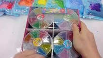 Learn Sizes Colors Foam Clay Slime Egg How To Make Rainbow Clay Slime Egg Learn Colours DIY