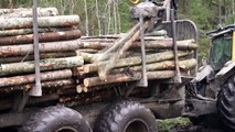 Machinery for logging, forward and dirt forward and forwarder