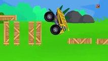 Monster LKW | LKW für Kinder | Karikatur für Kinder | Learn transport | Kids Vehicle | Mon