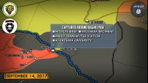 Syrian War Report – September 15, 2017: ISIS On Run In Deir Ezzor Countryside