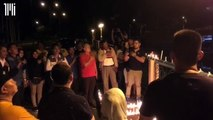 Vigil in support of Shafie Apdal