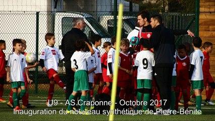 2017 10 21 - U9 ASC - inauguration à Pierre Bénite