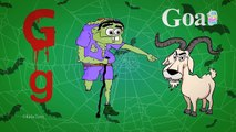 Scary ABC   Scary Alphabets   Scary Shapes   Scary Numbers & Many More Halloween Videos For Kids