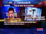 Terror Preacher Zakir Naik Back On Indian TV, Venomous Sermons Broadcast In Kashmir