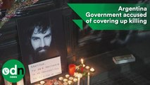 Argentina Government accused of covering up protester death