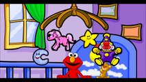 COLORING BOOK! Lets Color with Elmo! Sesame Street Learning Games for Kids Toddlers