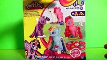 New Play Doh My Little Pony Make N Style Ponies Twilight Sparkle, Rainbow Dash, Pinkie Pie MLP new