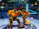 REAL STEEL WRB-STRONG New Robot (Metro Gold vs Midas & Metro & Atom & Zeus) ЖИВАЯ СТАЛЬ