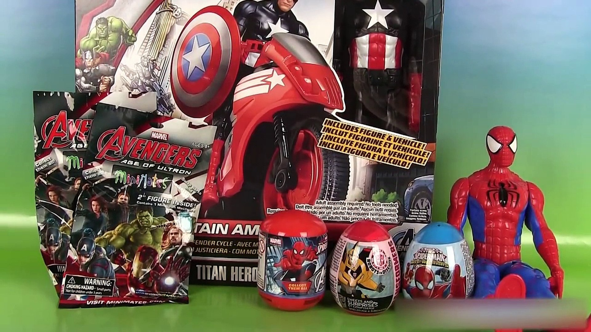 Moto Marvel Eggs Défense Bike Defender Avengers Cycle Surprise America Oeufs Capitaine QWEdCxerBo