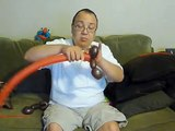 Red Race Car Balloon Animal Tutorial (Balloon Twisting & Modeling #7)