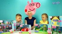 Свинка Пеппа игрушки Игры Для Детей Распаковка Unboxing Peppa Pig toys for children