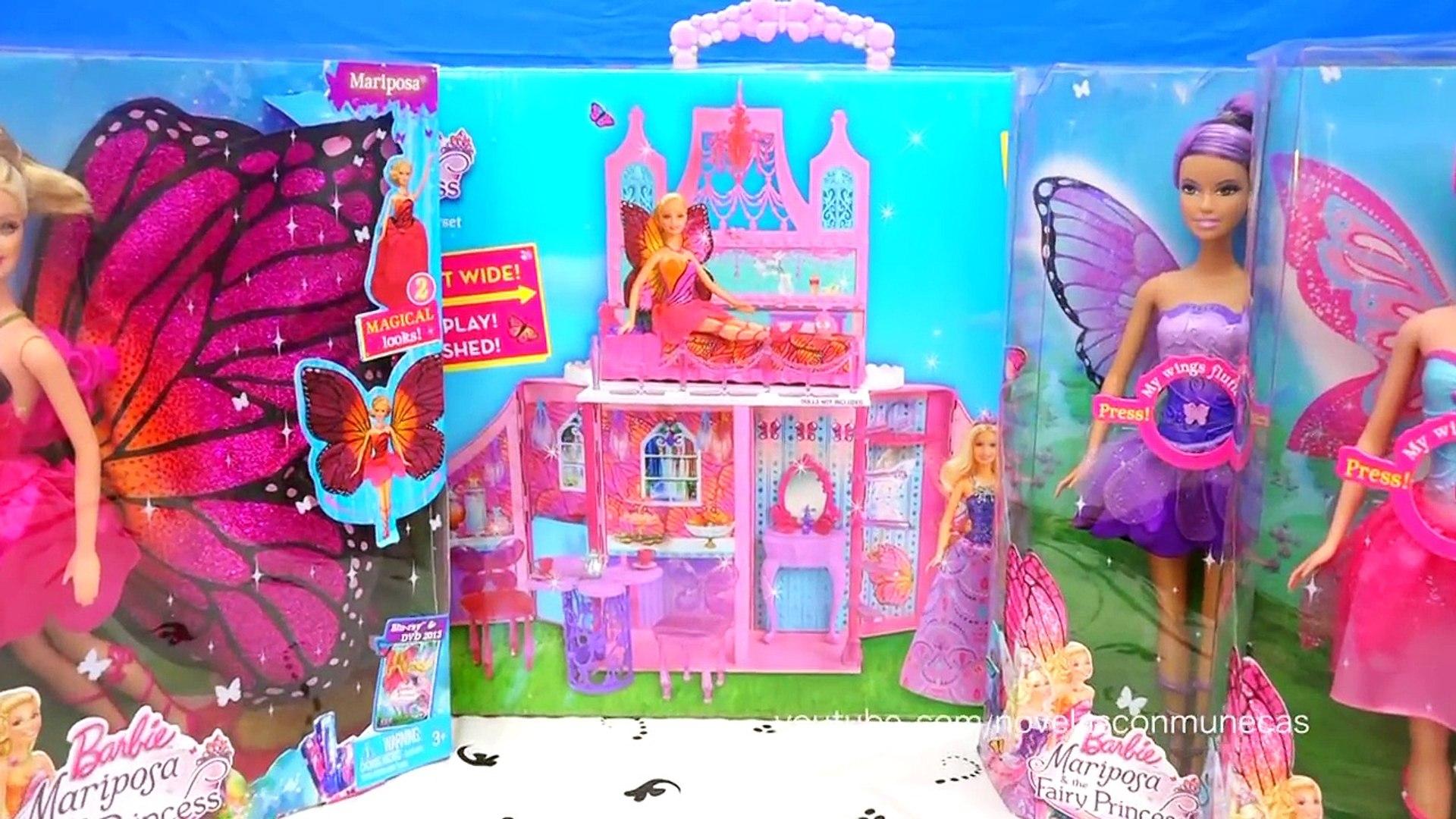 Muñecas Y Juguetes De Barbie De La Película Barbie Mariposa Y La Princesa De Las Hadas
