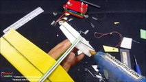 How to make RC Plane F22-V2 Fomic  (video 4) - video dailymotion